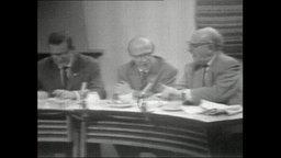 Expertenrunde im DDR-Fernsehen (Archivbild).