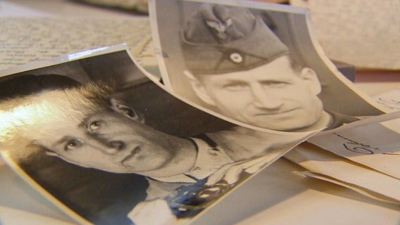 Fotografie ze spuścizny Wilhelma Weinherma z czasów II wojny światowej.  © NDR