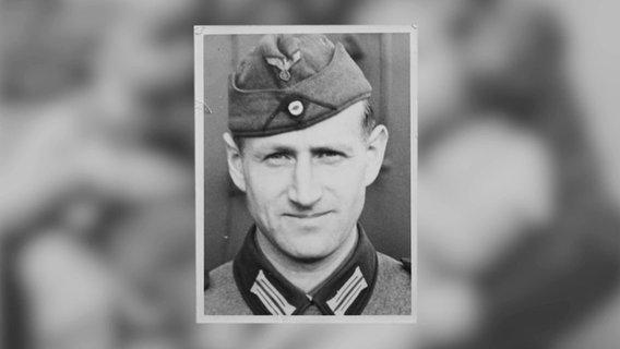Wilhelm Venherm as a soldier in World War II.  © private