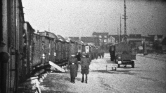 Photo from World War II by Wilhelm Venherm, undated.  © private