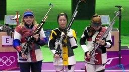 Qian Yang, Anastasia Galaschina und Nina Christen