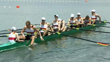 Deutschland-Achter zieht ins Olympia-Finale ein
