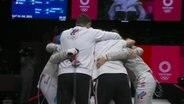 Russische Frauen gewinnen Olympia-Gold mit dem Säbel