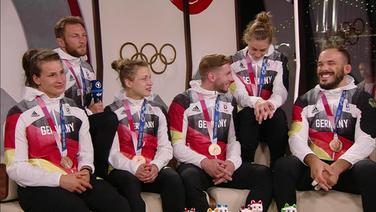 Das Bronze-Judo-Team