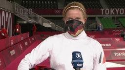 Annika Schleu im Interview.