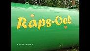 Ein Rapsöl-Silo