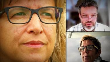 Manuela Schmermund, Sabine Kames und Philip Bernhard