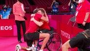 Tischtennis: Valentin Baus' Gold-Match bei den Paralympics.