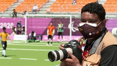 Joao Maia ist Fotograf bei den Paralympics