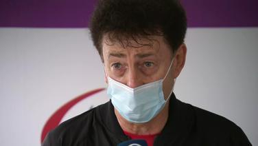 Der Bundestrainer der Para-Sportschützen, Rudolf Krenn