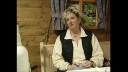 Die ehemalige Kaufhof-Angestelle Frau Wandner