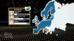 """Grafik des europäischen Stimmungsbarometers beim Vorentscheid """"Unser Song 2017"""""""