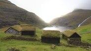 Häuser auf den Farörer Inseln.