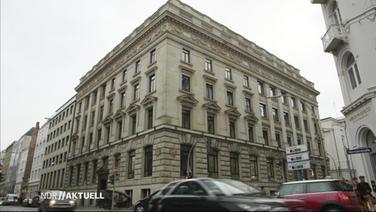 Das Gebäude der Warburg-Bank in Hamburg.
