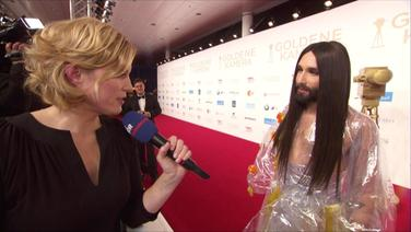 Kristina Gruse im Interview mit Conchita.
