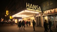 Eingang des Hansa Theaters