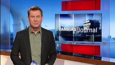 Hamburg Journal mit Moderator Jens Riewa.