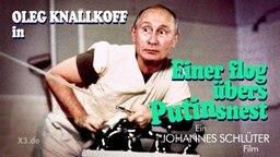 Karikatur von Vladimir Putin