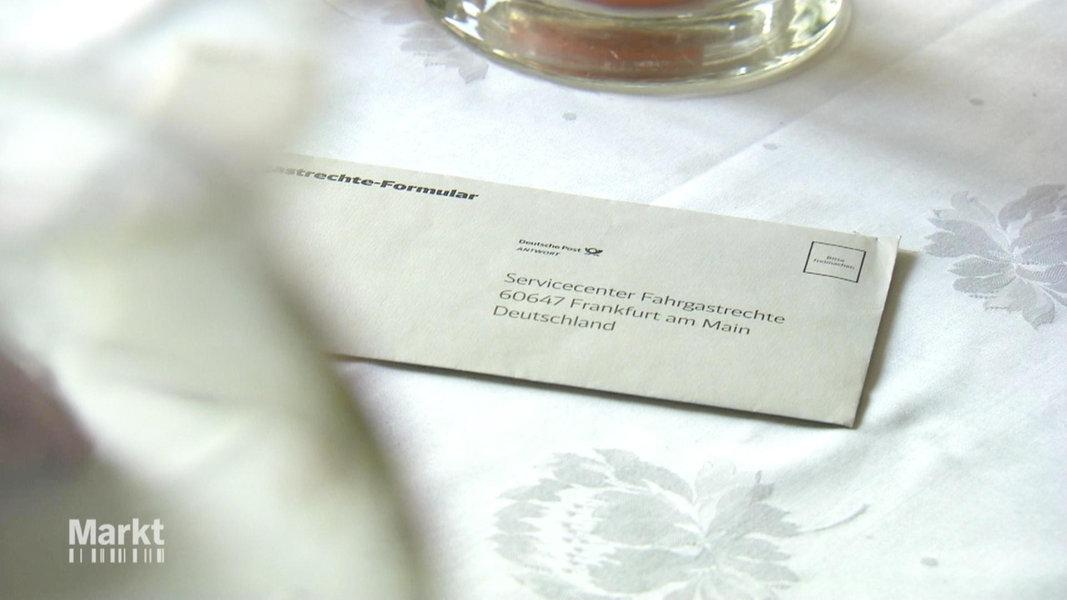 Bahn Versp Tung Streit Um Entsch Digung Fernsehen Sendungen A Z Markt
