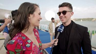 Alina Stiegler interviewt Ryan O'Shaughnessy aus Irland