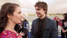 Alina Stiegler interviewt Alexander Rybak aus Norwegen