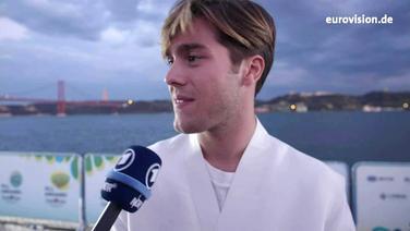 Benjamin Ingrosso im Interview © NDR