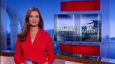 Hamburg Journal mit Moderatorin Julia Sen.