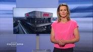 Panorama vom 21.06.2018 mit Moderatorin Anja Reschke.