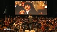 Filmmusik-Konzert mit Harry Potter.