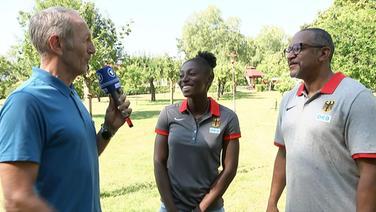 Lisa-Marie Kwaye und Idriss Gonschinska im Interview