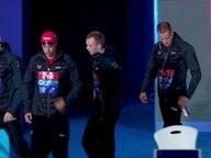Das deutsche Schwimmteam, bestehen aus Damian Wierling, Henning Mühlleitner, Poul Zellmann und Jacob Heidtmann.