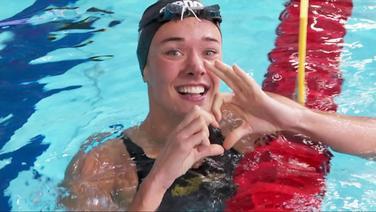 Europameisterin, Margherita Panziera (Schwimmen, 200 m Rücken, Frauen).