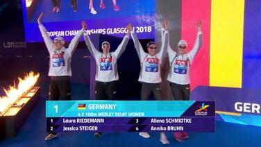 Deutsches Team der Frauen-Lagenstaffel