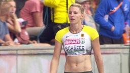 Siebenkämpferin, Carolin Schäfer.