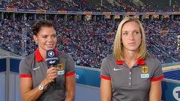 Pamela Dutkiewicz und Cindy Roleder im Interview