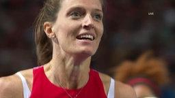 Hürdenläuferin Léa Sprunger