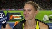 Interview mit Siebenkämpferin Schäfer