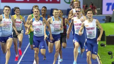 1500m-Finale der Männer bei den European Championchips