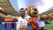 Adam Kszczot nach dem Sieg über die 800m bei den European Championships