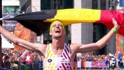 Marathongewinner, Koen Naert aus Belgien.