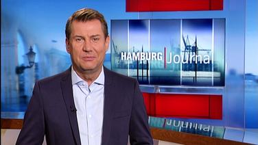 Jens Riewa moderiert Hamburg Journal.