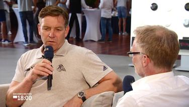 THW-Kiel Trainer Alfred Gíslason im Interview.