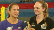 Chantal Laboureur und Julia Sude