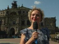 Katja Kreml live aus Dresden.