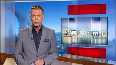 Ulf Ansorge moderiert Hamburg Journal.