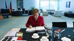 Merkel schreibt