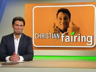 "Christian Ehring (Screen: ""Christian fairing"")."