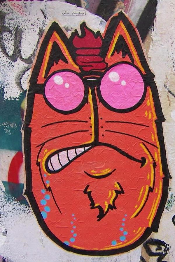 Legale Graffiti-Kunst in Rostock