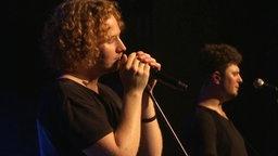 Michael Schulte beim Konzert in Buxtehude