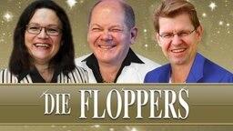Die Floppers - Andrea Nahles, Olaf Scholz und Ralf Stegner